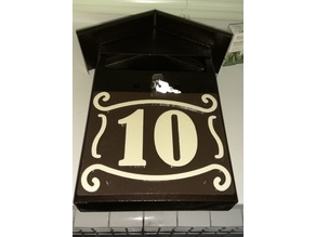 number 10 / Mailbox Numbers