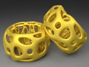 Napkin Ring - Voronoi Style