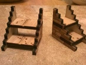 "2"" miniature stairways"