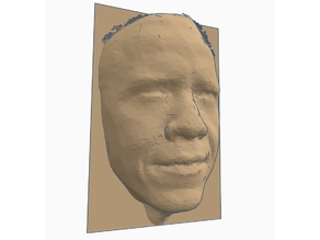 Barack H. Obama face scan