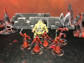 Cultists (28/32mm scale)