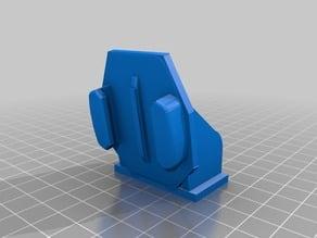 short mk2 Gopro mount for under MT09 headlight