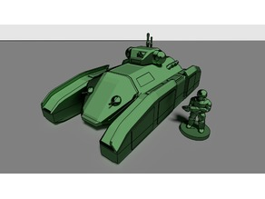 Futuristic Infantry Fighting Vehicle (18mm scale)