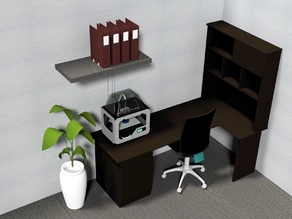 Discrete Filament Holder for Home and Office