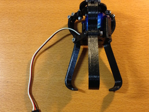 Robot Gripper with three fingers for Chess Robot