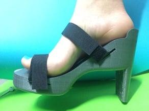 3D printed Heel