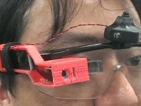 Customized smart-glass case for SiME smart-glass PCBA