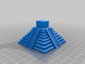 Mayan Pyramid (Chichen Itza)