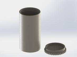Threaded can