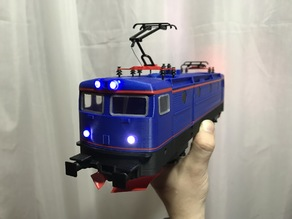 RC6 Locomotive for OS-Railway - fully 3D-printable railway system!