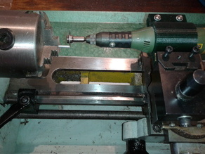 "Simple toolpost grinder for 10"" lathe"
