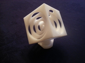 "2"" Turners Cube with Base"