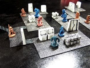 Modular Futuristic Tiles: Core Set