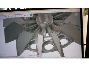Air Compressor Motor Fan Blade