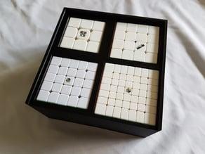 Rubiks cube box (3x3,4x4,5x5,7x7)