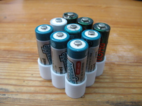 Stackable 9x AA Battery Holder