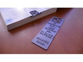 Marque-page Mamie #1/Granny bookmark #1
