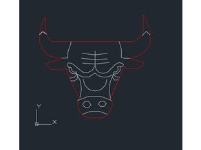 Laser Cut Chicago Bulls