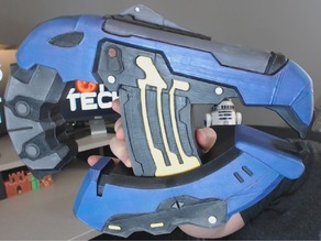 Full Sized Halo Plasma Pistol