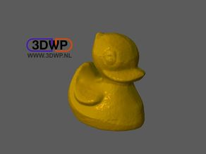 Rubber Ducky (Plastic Duck 3D Scan)