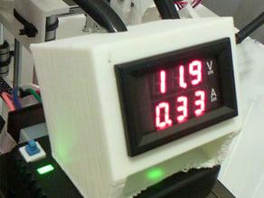 Volt + Ampere Meter Box