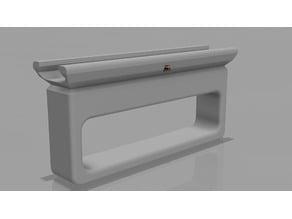 Airsoft Box grip for picatinny rail
