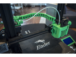 Stock Ender 3 Hot End Chain Links