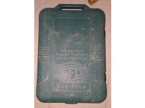 Refco manifold Clasp/fastener //  Fermoir pour boite de Mano