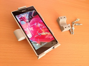 Bicycle holder for a Sony Xperia Z1