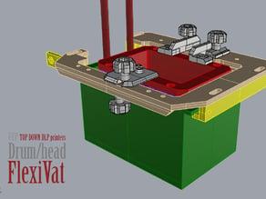 DrumHead FlexVat for Uncia printer. detachable version.