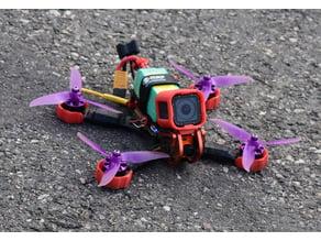 Armattan chameleon GoPro Session mount