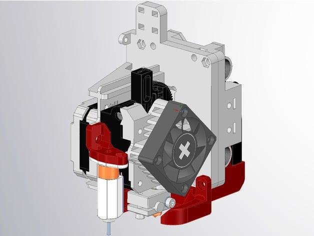 Hypercube Titan Aero V6 and Vulcano Direct Drive Extruder ...