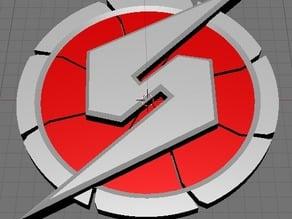 Metroid prime 3D logo