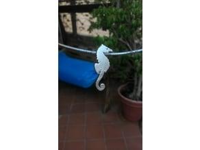 Seahorse pendant/keychain by TDesign