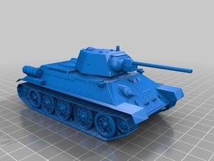 Soviet`s tank of WW2 - T-34