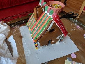 Gingerbread House Cookie Cutters and Blueprints