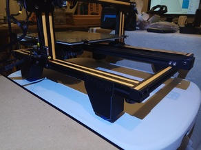 CR-10 Legs with 40mm, 45mm rubber ball