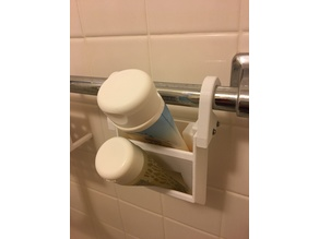 Tube Caddy for shower