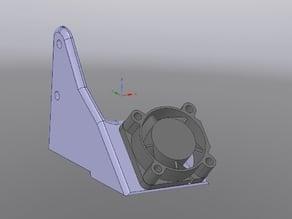 Bukito 20mm  PLA Cooling Fan Duct