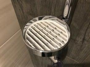 Soap drainer (dish insert) for shower