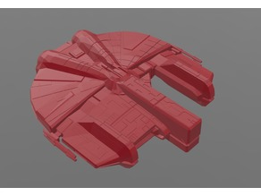 Dynamic Class Light Freighter (Ebon Hawk), X-Wing Miniatures Scale