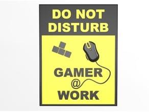 Gamer @ Work