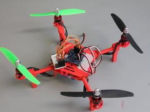 DIY Mini Quadcopter w/ 3D Printed Motor Mounts, Top & Bottom Plates