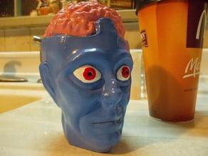 Dr Evil (Captain Action) bust/puppet head