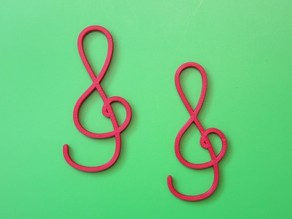 Treble Clef Hook