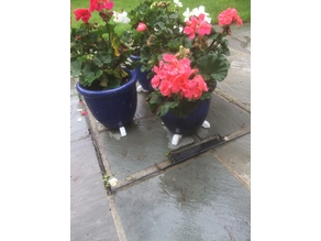 Plant Pot Foot Support