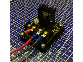 Universal Hotbed Mosfet Mount - Hotbed Burning Terminal Fix