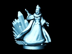 The Snow Queen (18mm scale)