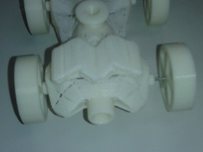 BALLOON POWERED BAT MOBILE