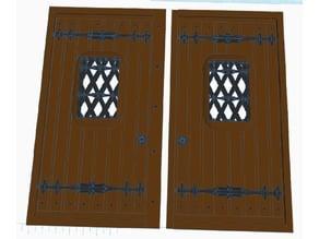Wooden Door Medievil